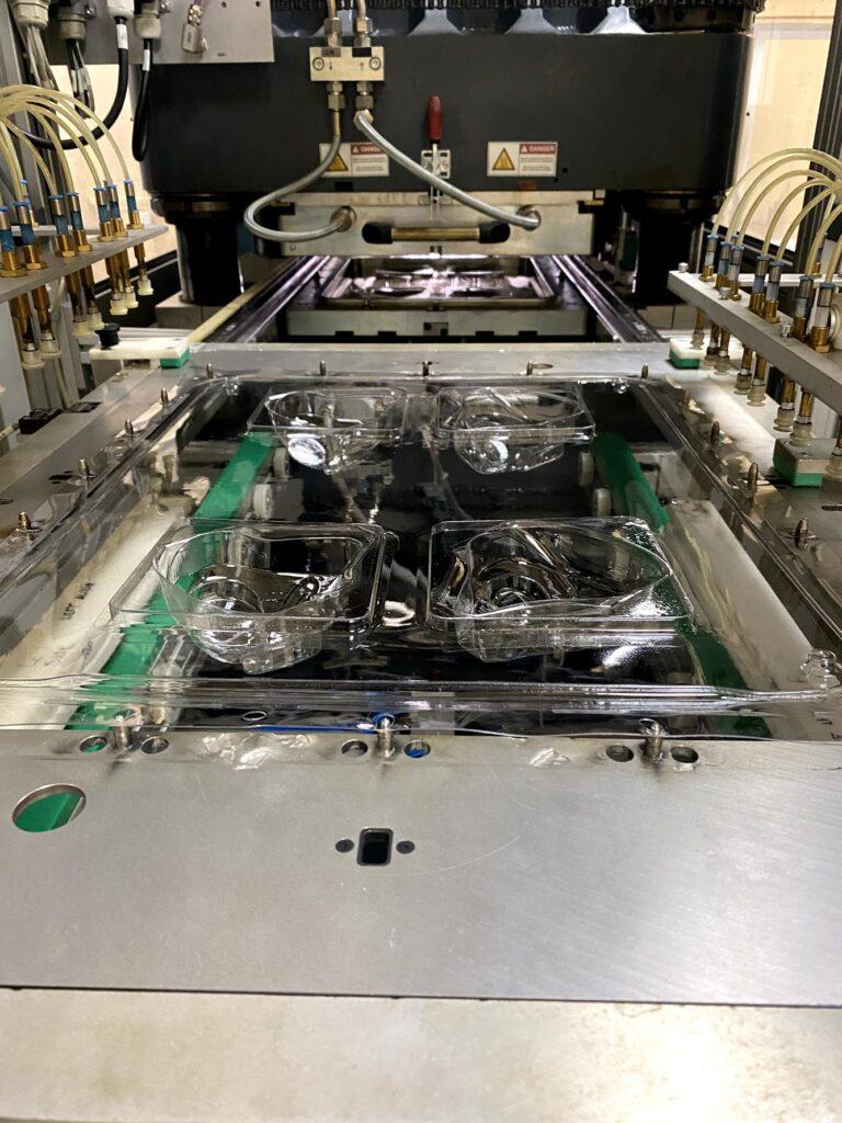 Niebling High pressure forming SAMK650, thin film forming, formed electronics